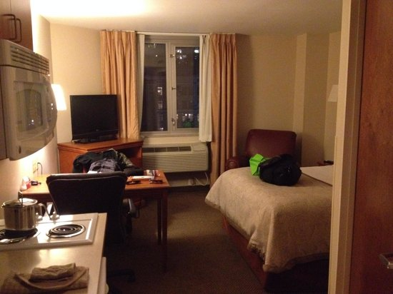 Candlewood Suites New York City Times Square: view when you walk in our room