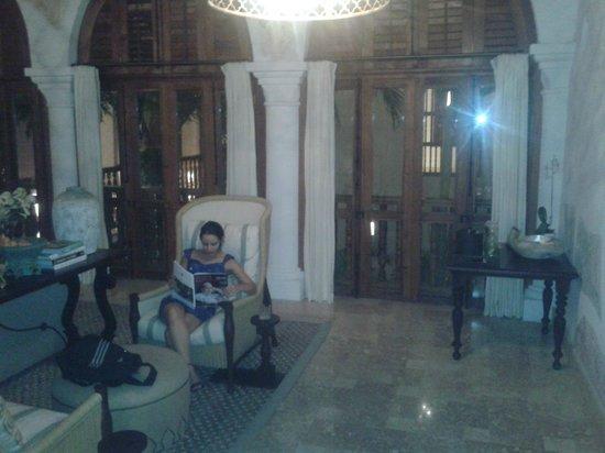 Hotel Casa San Agustin: Sala de Leitura do Hotel Casa San Agustín
