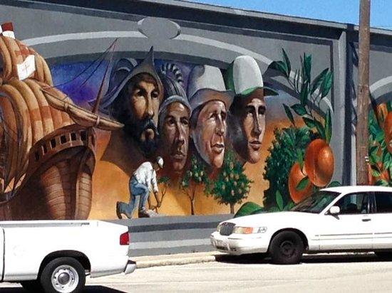 Murals of Lake Placid: Historical figureds