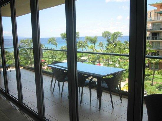 Honua Kai Resort & Spa: お部屋からの外の眺め①(5階から)