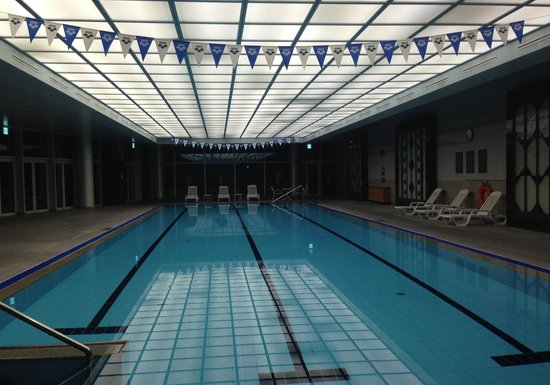 InterContinental Seoul COEX: one of my favorite indoor swimming pools