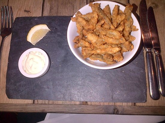The Ship Hotel: A good helping of whitebait starter