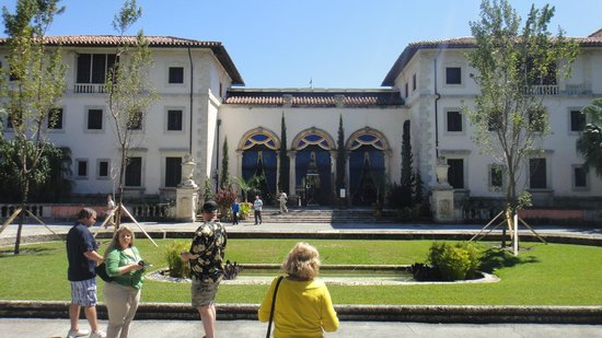 Vizcaya Museum and Gardens: Entrada da casa