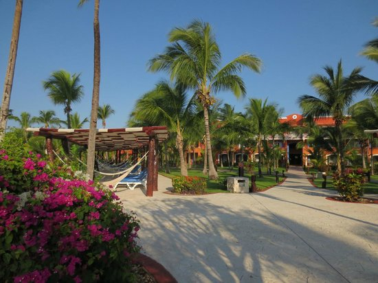 Barcelo Maya Caribe: Landscaping, grounds and hotel are beautiful