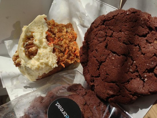 Purebread: Divine carrot cake loaf and addictive adult only cookie!