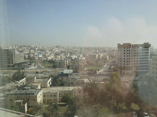 Amman Marriott Hotel : View of Amman from room