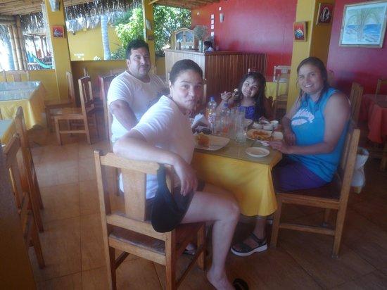 Hotel Casa de Playa: almorzando en Casa de Playa