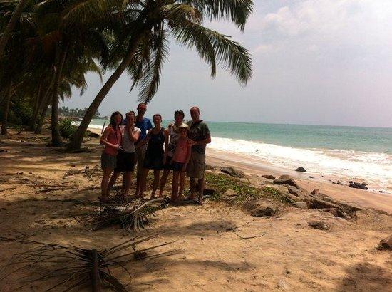 Karu's Guest House : La plage à moins de 1 minute.