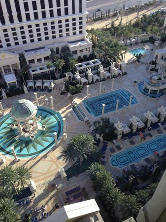 Caesars Palace: View from the Room - 18th Floor