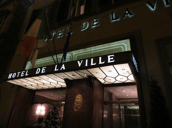 Hotel de La Ville: 高級ホテルです