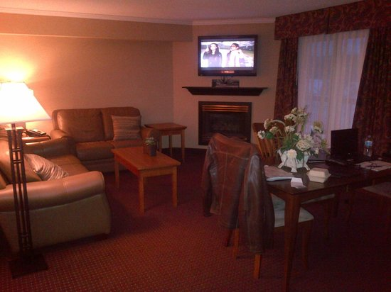 Best Western Plus Norwester Hotel & Conference Centre: sitting area