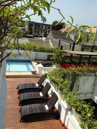 Casa Canabal Hotel Boutique : Roof pool