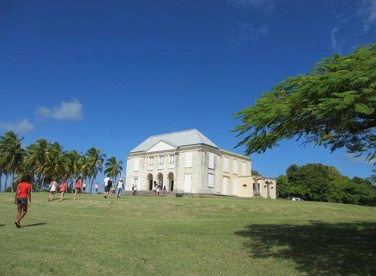 Cool Caraïbes : Château Murat à Marie-Galante (fait parti de la visite à terre)