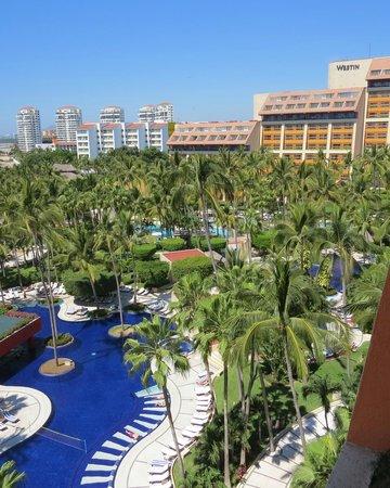 Club Regina Puerto Vallarta: view from our room