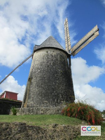 Cool Caraïbes : Moulin à Marie-Galante