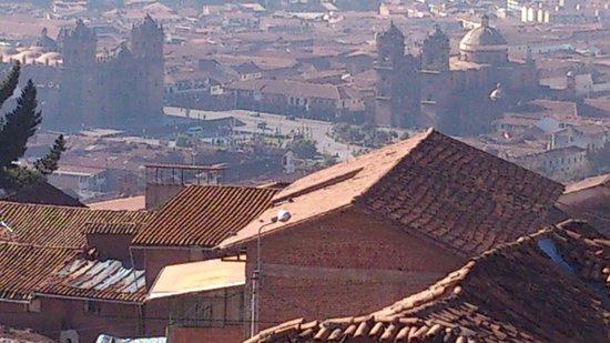 Mirador de Santa Ana: Vista do Hotel