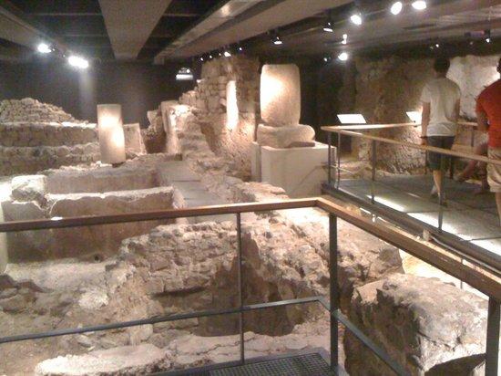 Historisches Museum der Stadt Barcelona (Museu d'Historia de la Ciutat): La zona arqueológica del MUHBA