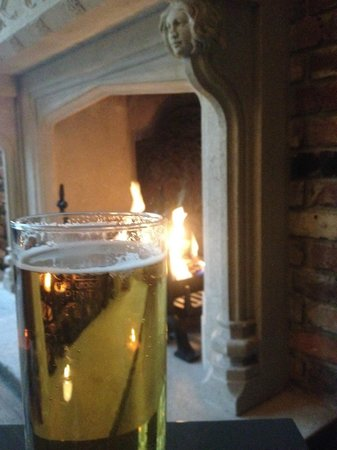 The Hoxton, Shoreditch: roaring fire and beer