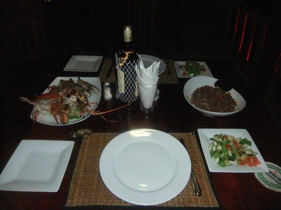 Villa Amore Mio: ужин