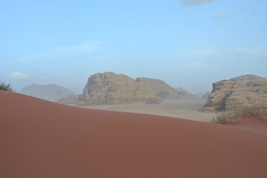 Jordan Tracks : tramonto al wadi rum