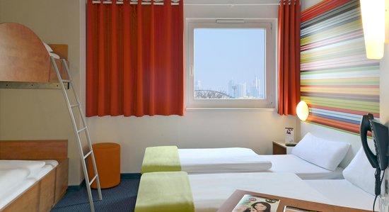 B&B Hotel Frankfurt-Niederrad - Familienzimmer für 4 Personen