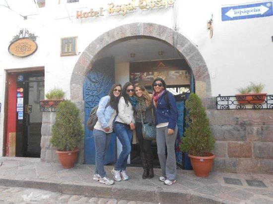 Hotel Royal Qosqo : Feliiiz!