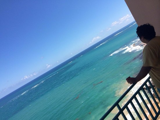 San Juan Marriott Resort & Stellaris Casino: View from 1916 during the day. Absolutely gorgeous