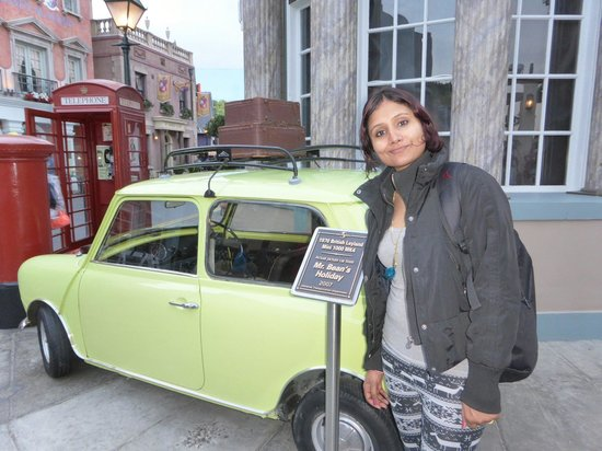 Mr Bean S Car Picture Of Universal Studios Hollywood