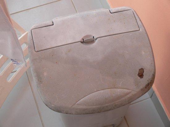 Diamant Beach: poubelle salle de bain