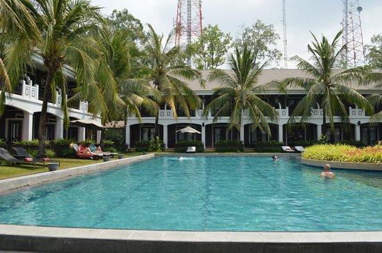 Shinta Mani Resort: Pool view
