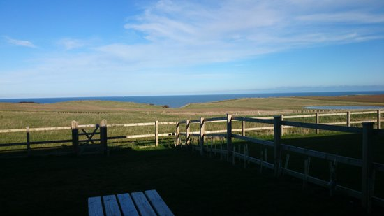 Scalby Lodge: the view