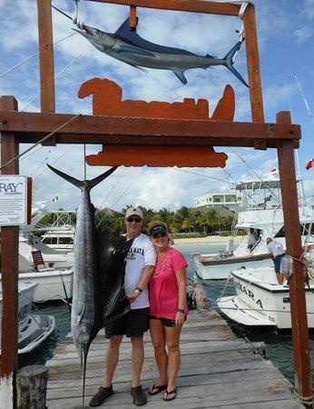 "Maroma Adventures: 89"" Sailfish caught"