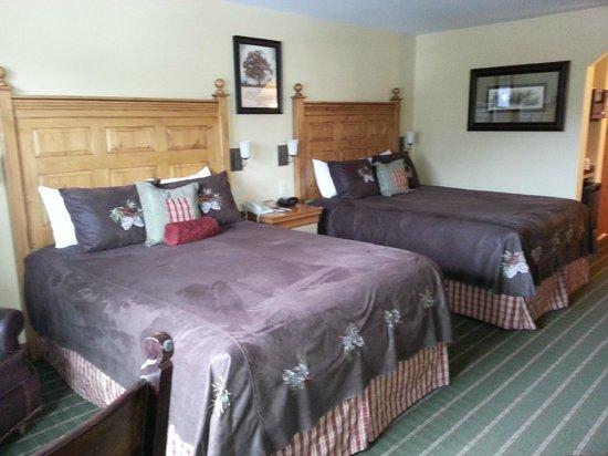 Bavarian Lodge: Beds