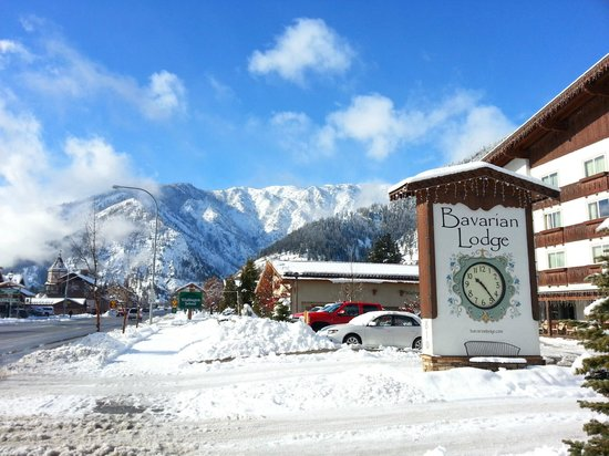 Bavarian Lodge : Mountain view