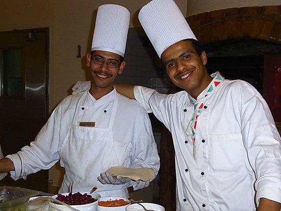 Hilton Marsa Alam Nubian Resort : 教育の行き届いたスタッフ