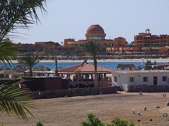 Hilton Marsa Alam Nubian Resort : ヒルトンのプライベートビーチ