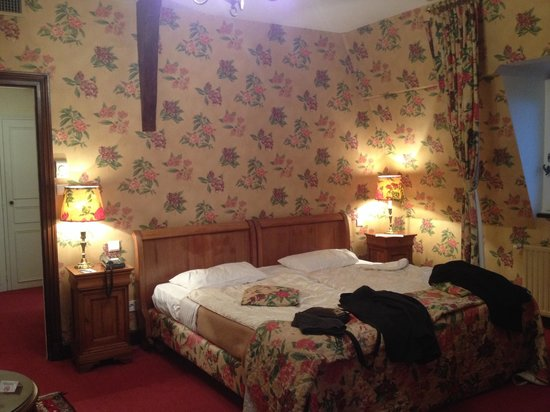 Chateau de Gilly: Chambre