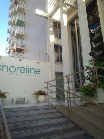 Shoreline Hotel Waikiki : outlook