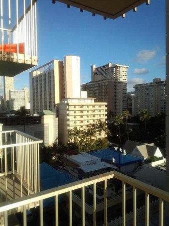 Shoreline Hotel Waikiki : view