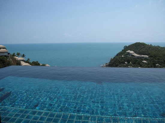 Banyan Tree Samui : Our infinity Pool