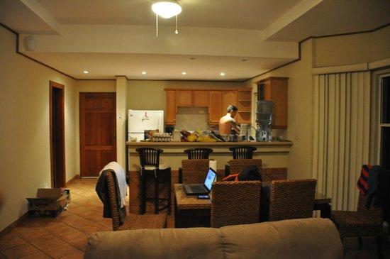 Hacienda Iguana: Cozinha americana