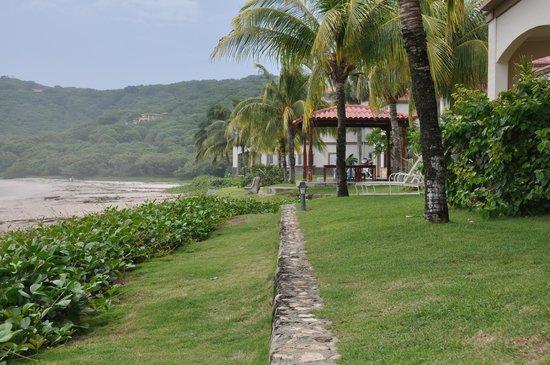 Hacienda Iguana: Do Terraço vista da área da piscina