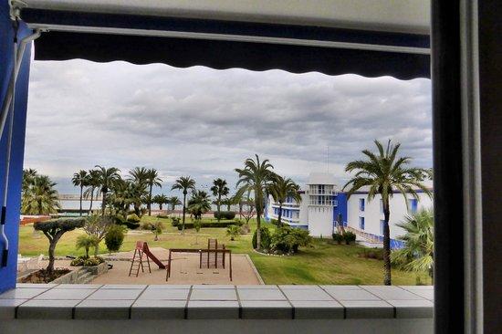 Parador de Benicarló: Blick zum Meer