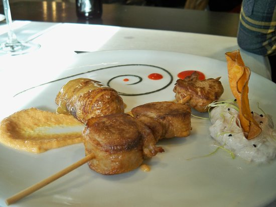 Restaurante Umai : brocheta