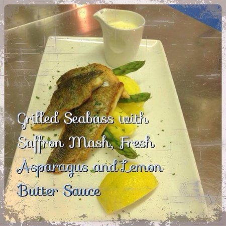 The Plaza Restaurant: One of the Fish Specials at The Plaza
