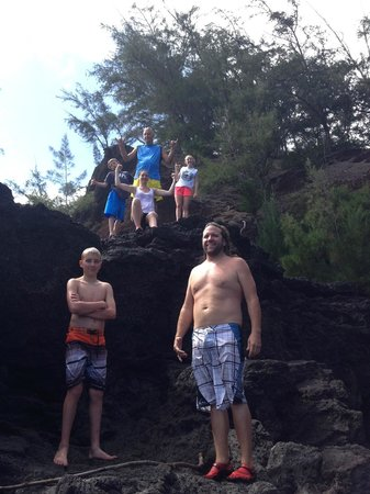 Paia, HI: Cliff diving in one of the most beautiful spots!