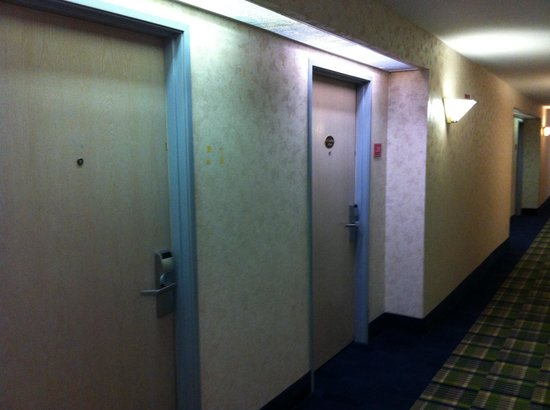 Days Inn And Suites Corpus Christi Central: Smoking and non smoking rooms, next to each other