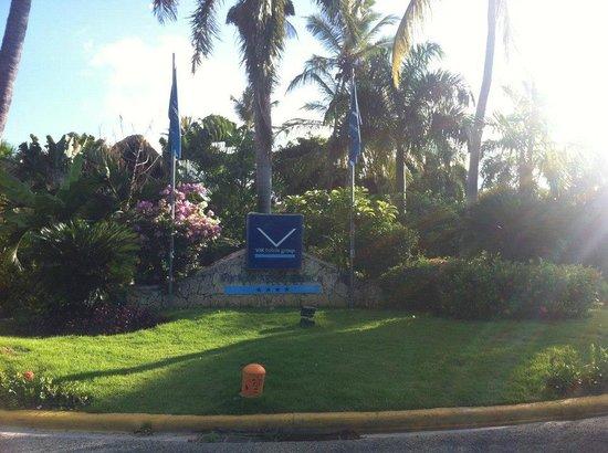 VIK Hotel Arena Blanca : entrée du resort