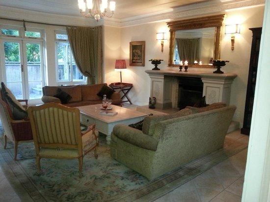 Franschhoek Country House & Villas: Allgemeine Lounge