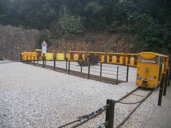 Il Parco Archeominerario di San Silvestro : trenino per la miniera